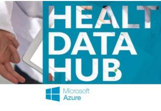 Health Data Hub logo Microsoft