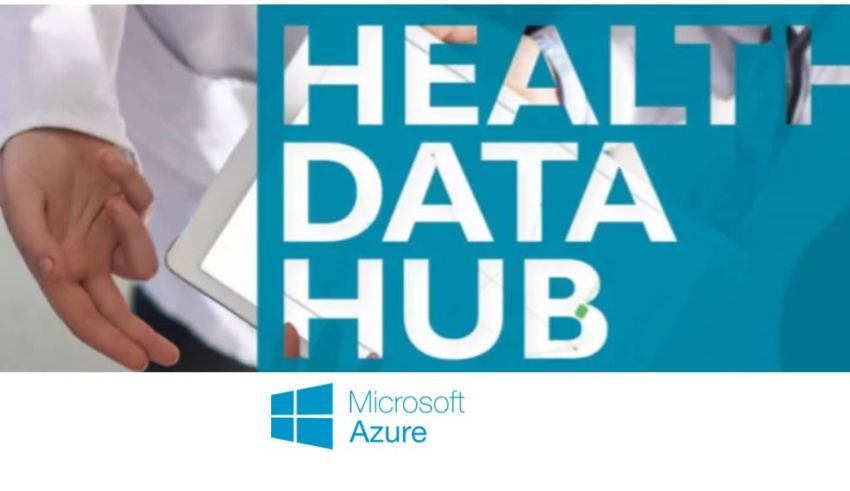 Health Data Hub logo Microsoft